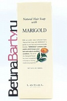 Шампунь lebel hair soap with marigold (календула) 1600мл